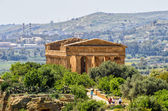 Templo da concórdia em agrigento, itália — Foto Stock