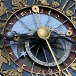 Zodiac clock — Stock Photo
