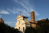 Santa Francesca Romana in Rome, Italy — Stock Photo