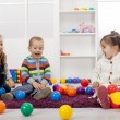 Kids playing in the room — Stock Photo #18103821