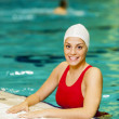Swimming girl — Stock Photo #18104861