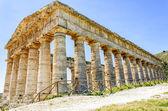 Doric Temple in Segesta, Sicily, Italy — Stock Photo