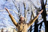 冬の喜び — ストック写真