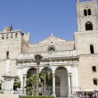 Monreale cathedral in Palermo, Italy — Stockfoto
