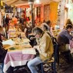 Restaurant in Rome — Stock Photo
