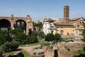 Fórum romano em roma, itália — Foto Stock