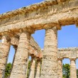 Doric Temple in Segesta, Sicily, Italy - Foto Stock