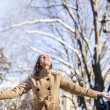 Stock Photo: Winter joy