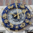 Zodiac clock — Stock Photo #18633549