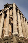 Temple of Antonius and Faustina in Roman Forum, Rome, Italy — Stock Photo