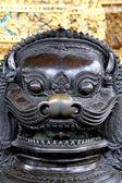 Statua dal tempio in thailandia — Foto Stock