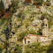 Royalty-Free Stock Photo: Chapel of Our Lady of Salvation above Kotor, Montenegro