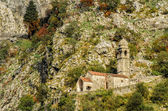Chapel of Our Lady of Salvation above Kotor, Montenegro — Stock Photo