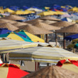 Stock Photo: Parasols