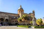 Palermo cathedral in Italy — Stock Photo
