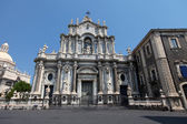 Cathedral of Santa Agatha in Catania — Stock Photo