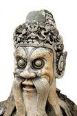 Estatua en el templo de wat pho en bangkok — Foto de Stock