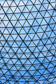 Glass roof construction — Stock Photo