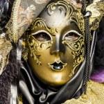 Traditional Venetian carnival mask — Stock Photo #21229035