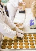 Fábrica de galletas — Foto de Stock