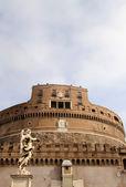 Castel Sant' Angelo, Rome, Italy — Stock Photo
