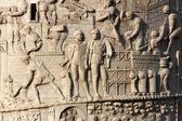 Trajan column in Rome, Italy — Stock Photo