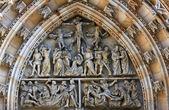 Cattedrale di san vito, praga — Foto Stock