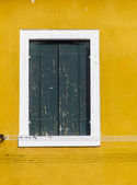 Window from Burano — Stock Photo