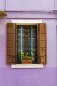окно из бурано — Стоковое фото