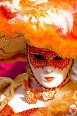 Venedik karnaval maskesi — Stok fotoğraf