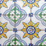 Lisbon tiles — Stock Photo #23943877
