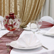 Wedding Table — Stock Photo #23944543