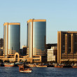 Deira Twin Towers in Dubai Creek — Stock Photo #23945331
