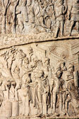 Trajan column in Rome — Stock Photo