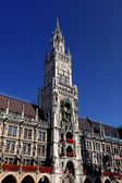 New Town Hall (Neues Rathaus) in Munich, Germany — Стоковое фото
