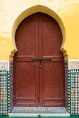 Moroccan door — Stock Photo