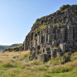 Stock Photo: Dverghamrar basalt columns at Iceland