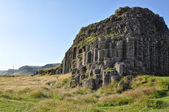 Dverghamrar basalt columns at Iceland — Stock Photo