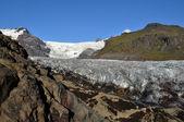 Iceland glacier — Stock Photo