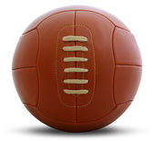 Vintage football ball — Stok fotoğraf