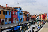 Burano island, Italy — Stock Photo