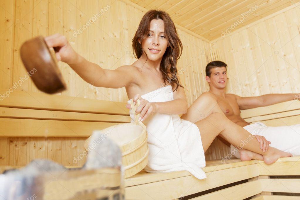 девушки в баню с мужем фото