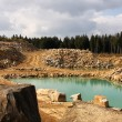 Open pit — Stock Photo #27095553