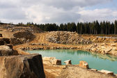Open pit — Stock Photo