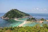 Nangyuan Island beach in Thailand — Stock Photo