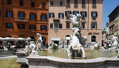 Piazza Navona in Rome, Italy — Photo