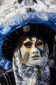 Traditionele venetiaanse carnaval masker — Stockfoto
