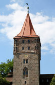 Gate Tower (Tiergartnertor) in Nuremberg, Germany — Stock Photo