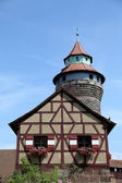 Nuremberg castle in Germany — Foto Stock