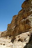 Colored canyon at Sinai, Egypt — Stock Photo